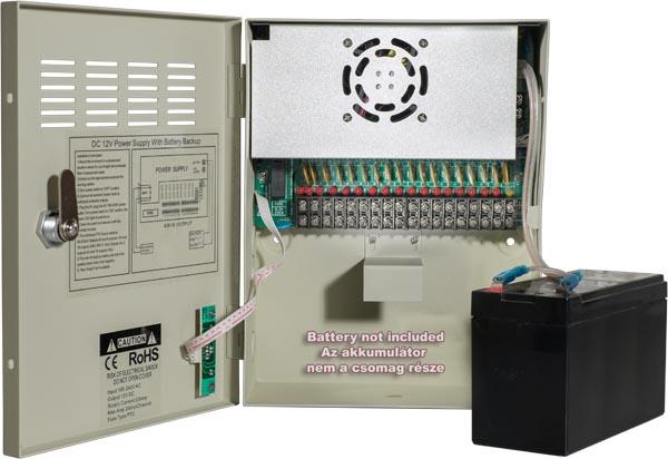 Akkumulátoros UPS tápegységek