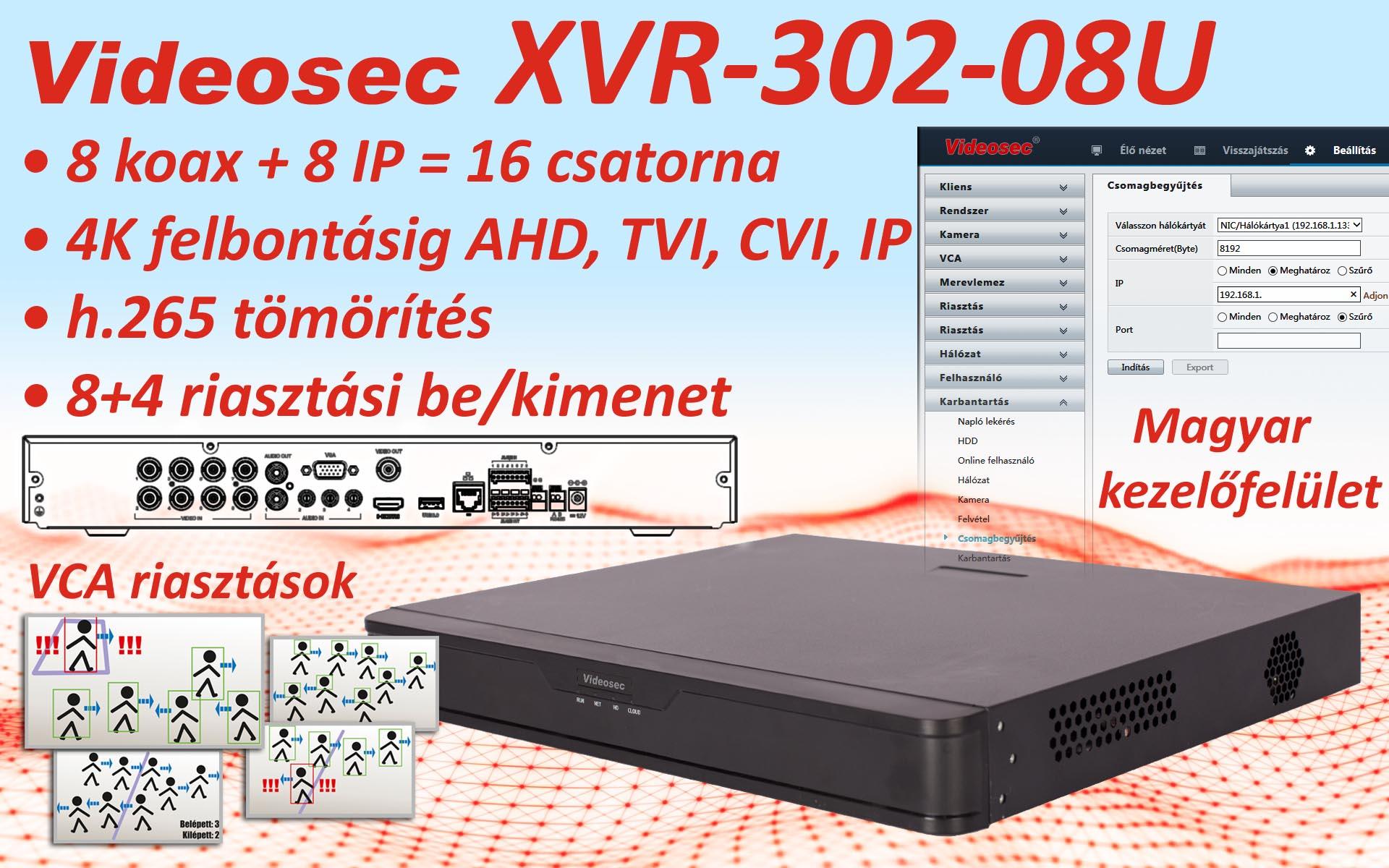 XVR-302-08U