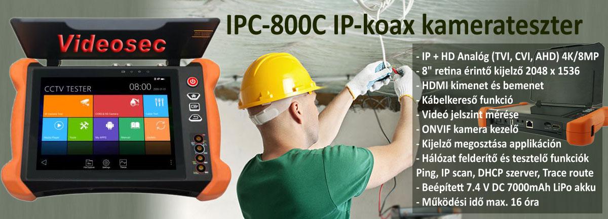IPC-800C teszter