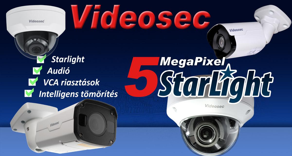 5MP Starlight motorizált