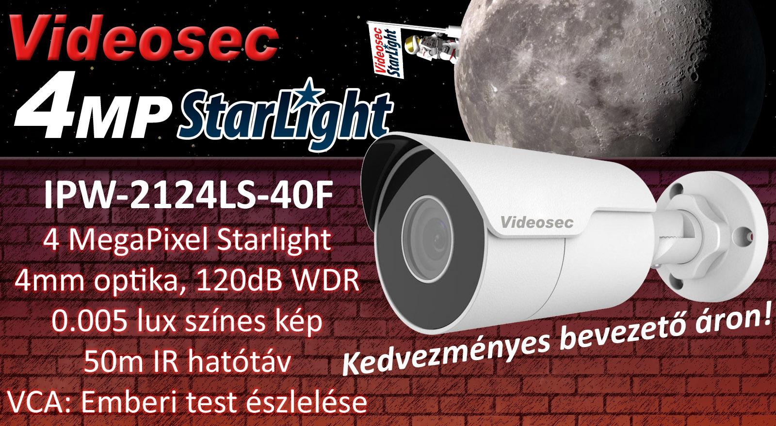 Új 4MP Starlight kamera